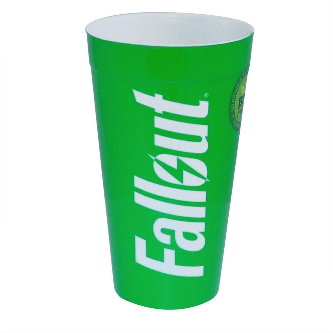 Fallout Plastic Cup, Green colored