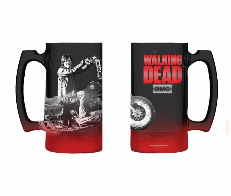 Daryl bike Gradient Spray Red to Black Beer Mug