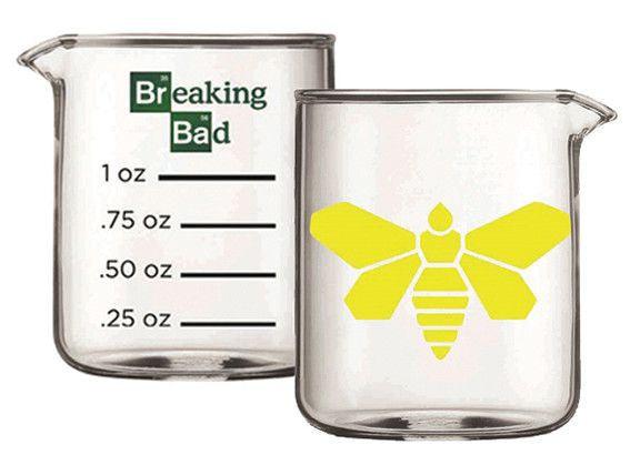 BB Yellow Moth Beaker Coffee Mug