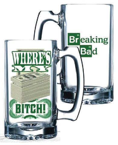 BB Beer Mug Where's My Money
