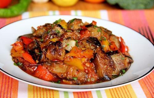 Moroccan Roasted Eggplant