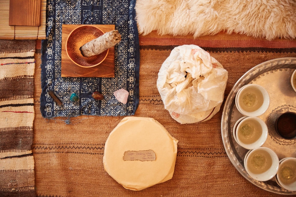 Tea Ceremony + Sound Bath, with Jade & Rachel - January 20th @ 10am in Mill Valley