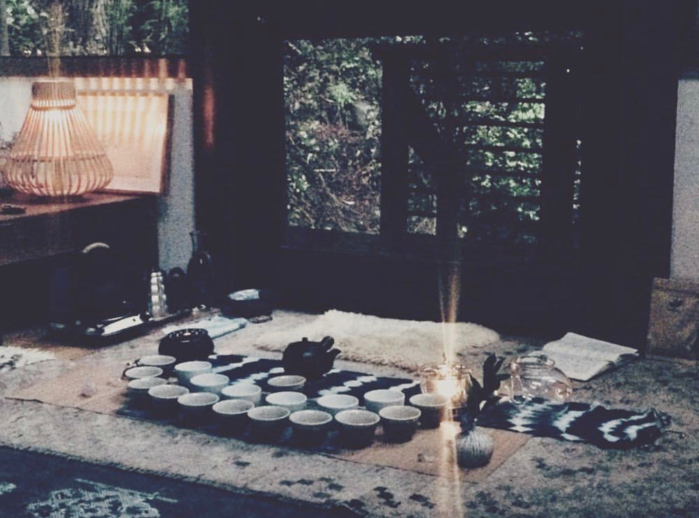 Flower Full Moon Tea + Sound Ceremony, May 29th, Mill Valley, 7-9 PM