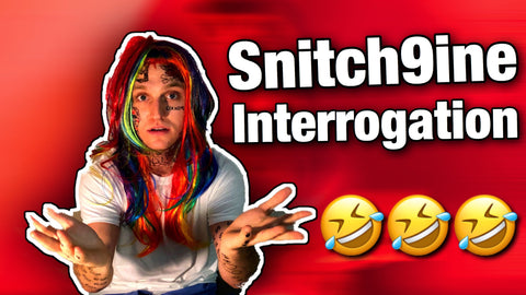 Snitch9ine Interrogation Skit | Tekashi 69 in Jail