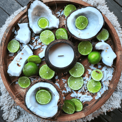 Coconut Lime Soy Candle by Coconut Bowls