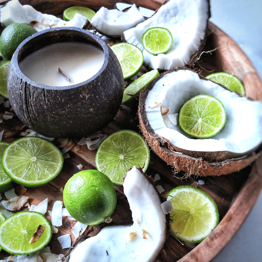 Coconut Lime - Coconut Soy Candles