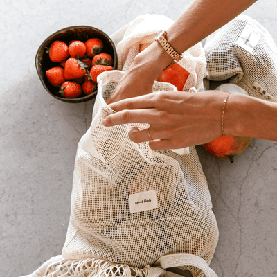 Produce Bags - Large by Coconut Bowls