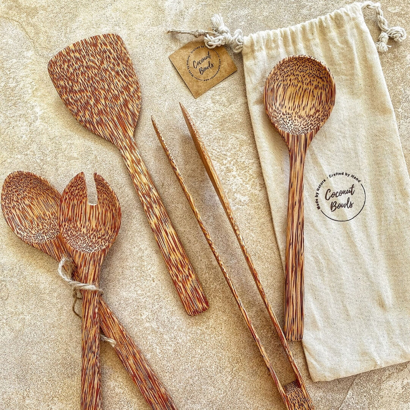 Wooden Kitchen Utensils Set