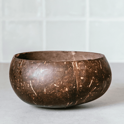 Original Coconut Bowl + Wooden Spoon