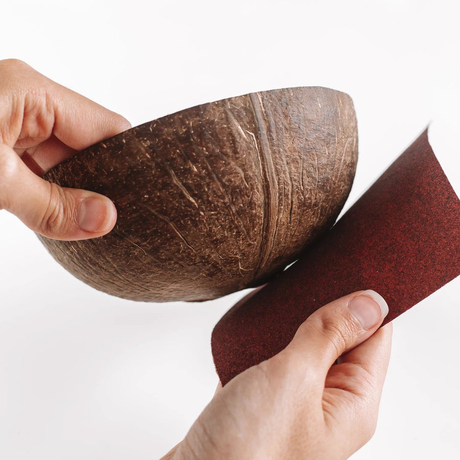 DIY Natural Coconut Bowl
