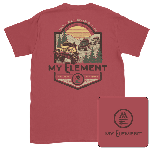 Off Road Short Sleeve Pocket T-shirt - MyElementco.com