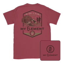 Clogging - The Stage is Calling -Short Sleeve Comfort Color T-shirt (2 colors) - MyElementco.com