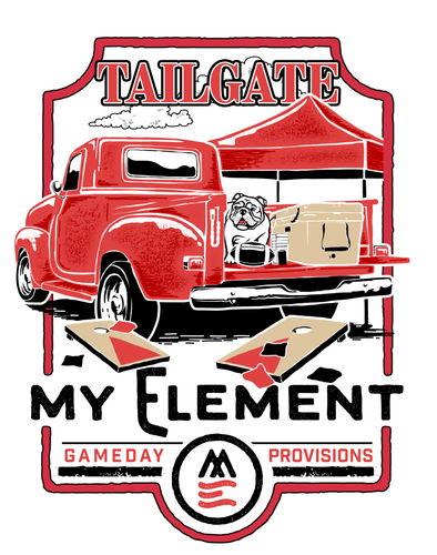 Game Day - short sleeve - white comfort color - pocket t-shirt (2 color designs available) - MyElementco.com