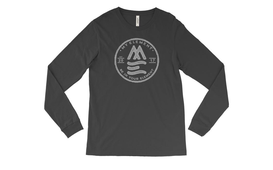 Long sleeve fitted T-Shirt (2 colors) - MyElementco.com