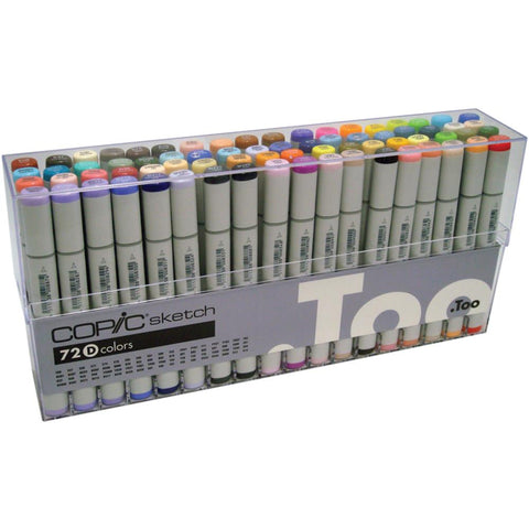 Copic Sketch Markers Set 72/Pkg Set B