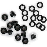 We R Memory Keepers - Eyelets & Washers Standard Black 70 pack