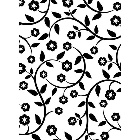 Embossing Folder 4.25X5.75 Flowers & Vine
