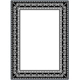 "Darice Embossing Folder 4.25""X5.75"" Photo Frame"