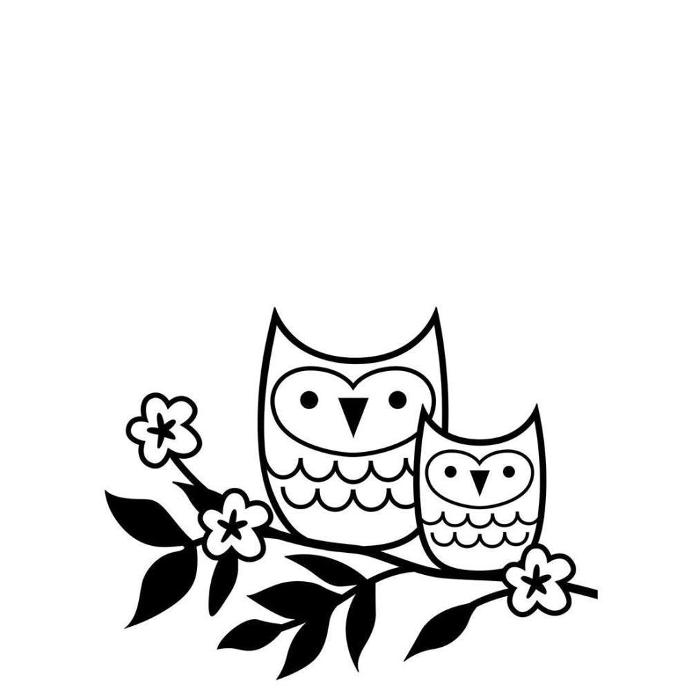 Darice - Embossing Folder 4.25X5.75 Owls On Twig