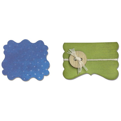 Sizzix Movers & Shapers Magnetic Dies 2 pack Door & Label