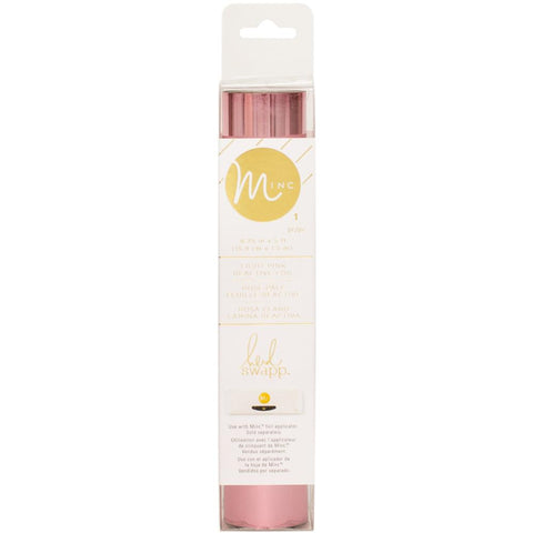 Heidi Swapp - Minc 6 inch Foil Roll 5 ft. - Light Pink