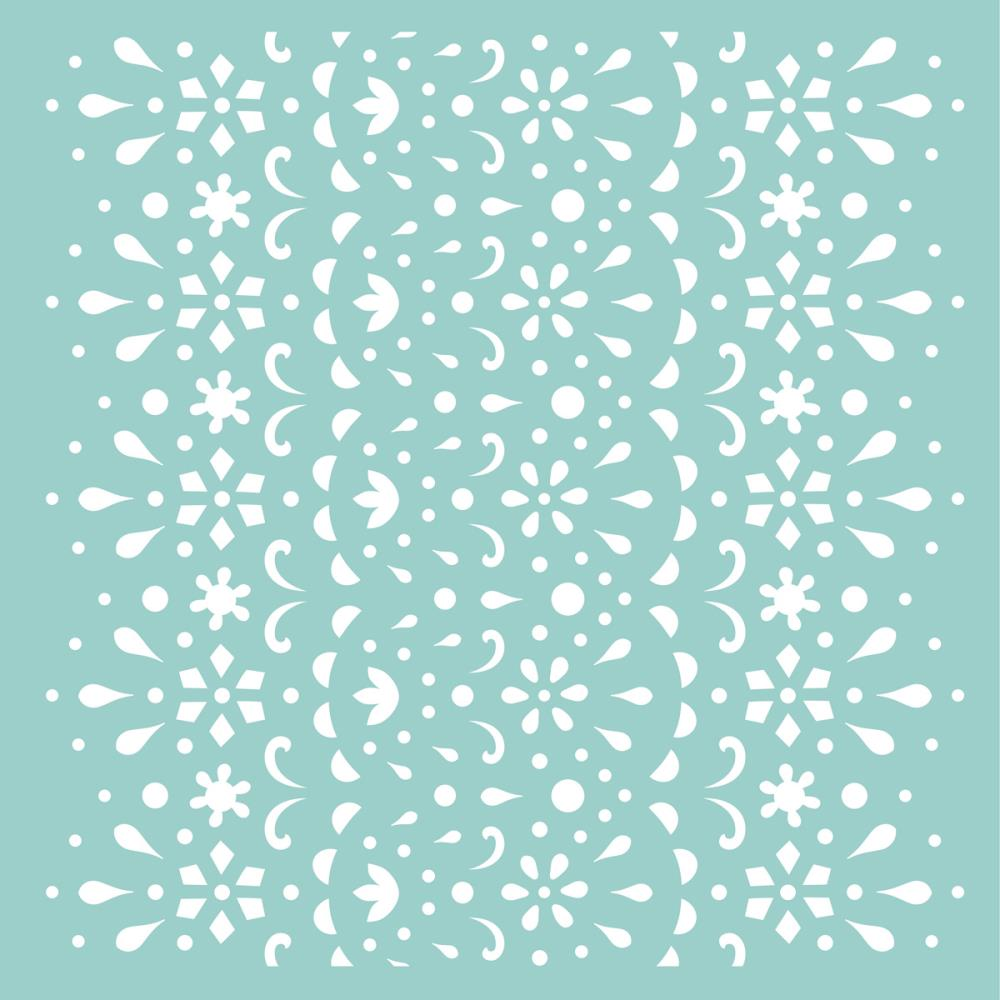 Kaisercraft Designer Template 12 inch X12 inch Lace