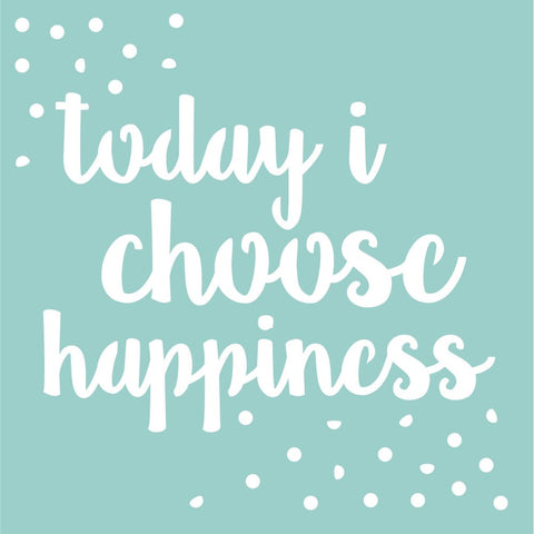 Kaisercraft Designer Template 12 inch X12 inch Happiness Quote