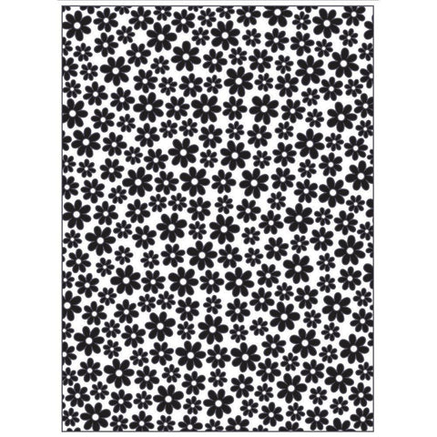 Background Embossing Folder 4.25X5.75 Small Daisy