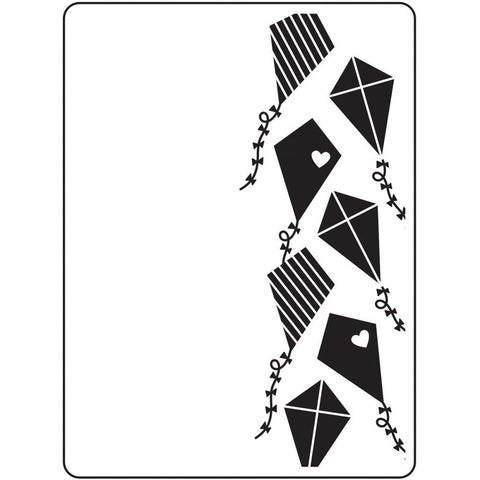 "Darice Embossing Folder 4.25""X5.75"" Kites"