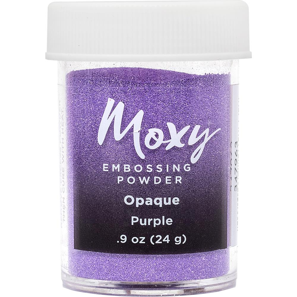 Moxy Opaque Finish Embossing Powder 1oz - Purple