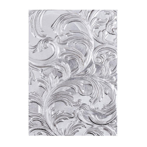Sizzix 3D Textured Impressions Embossing Folder By Tim Holtz Elegant