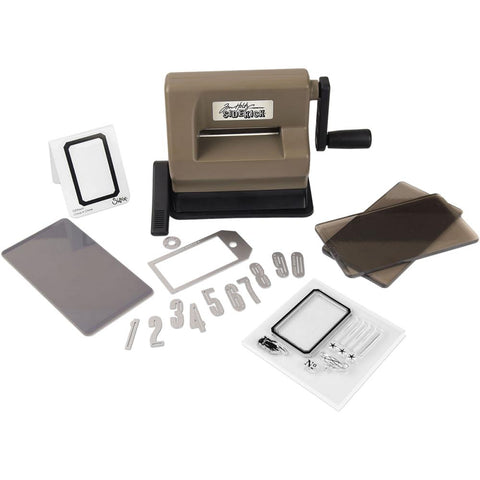 Sizzix Sidekick Starter Kit Featuring Tim Holtz Brown & Black