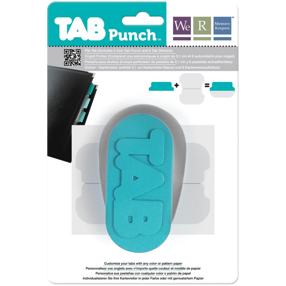 We R Memory Keepers - Tab Punch File