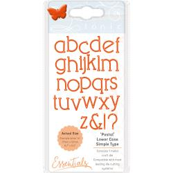 Tonic Studios Essentials Simple Type Dies Postal Font Lower Case
