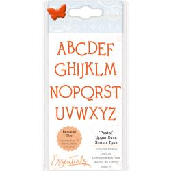 Tonic Studios Essentials Simple Type Dies Postal Font Upper Case