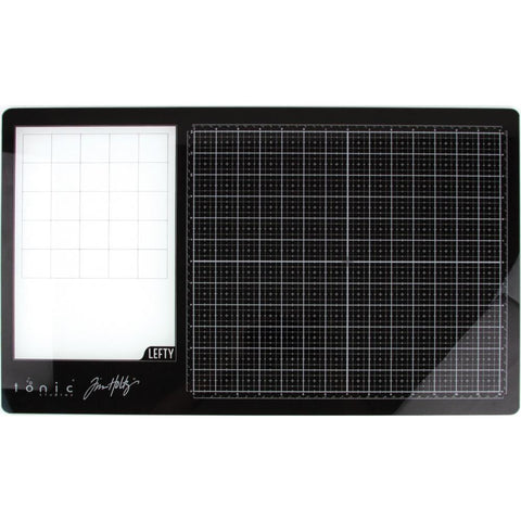 "Tim Holtz Glass Media Mat 23.75""X14.25"" Left-Handed"