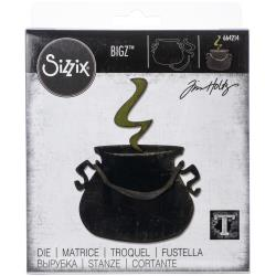 Sizzix Bigz Die Cauldron by Tim Holtz