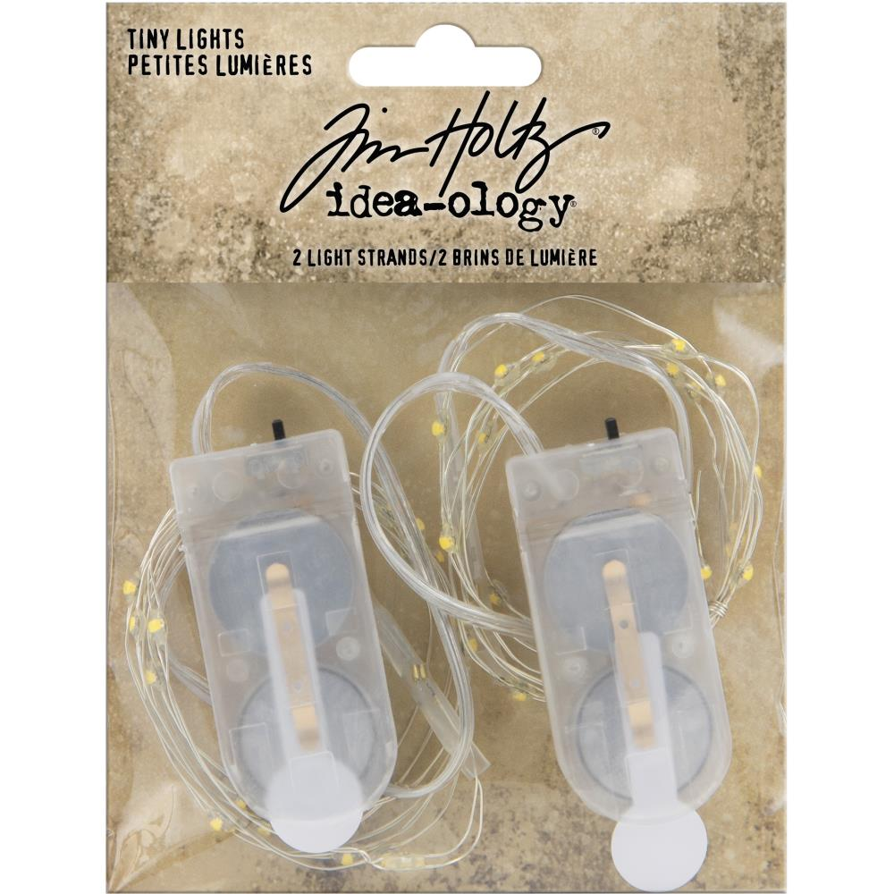 Idea-Ology Battery Operated Wire Light Strands 2/Pkg Tiny Lights