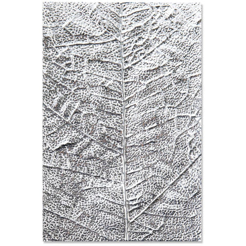 Sizzix 3D Textured Impressions Embossing Folder Leaf Veins