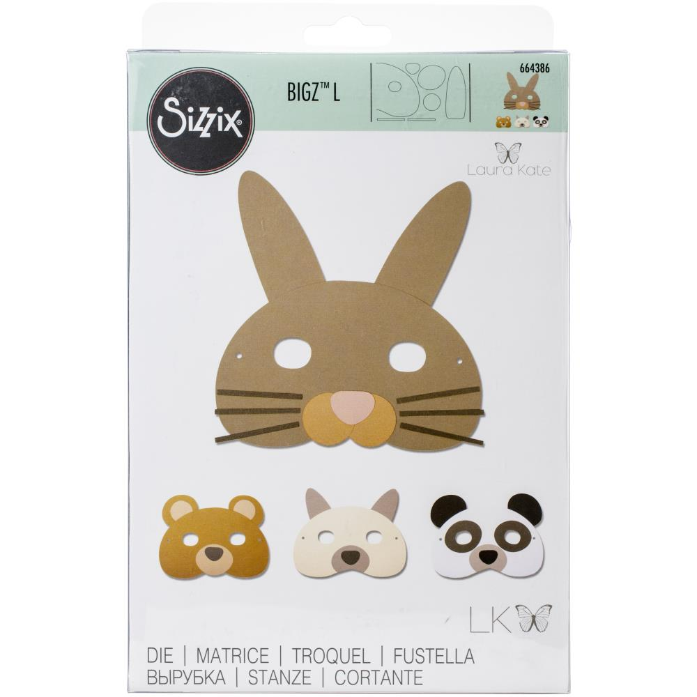 Sizzix Bigz L Die Animal Mask by Laura Kate