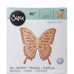 Sizzix Bigz Die Layered Butterfly by Jessica Scott