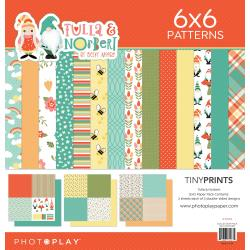 "PhotoPlay Quad Paper Pack 12""X12"" Tulla & Norbert"