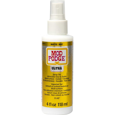 Mod Podge Ultra Matte 4oz Spray