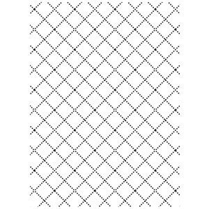 Darice - Embossing Essentials - Wire Fence