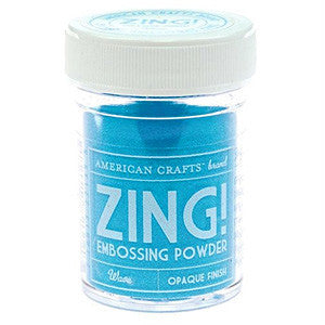 American Crafts 1Oz Zing Embossing Powder - Wave