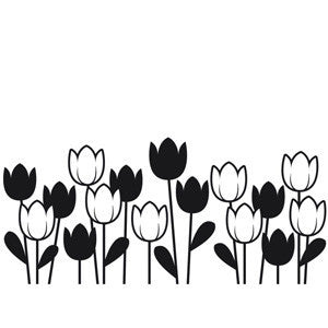 Darice - Embossing Essentials - Spring Tulip