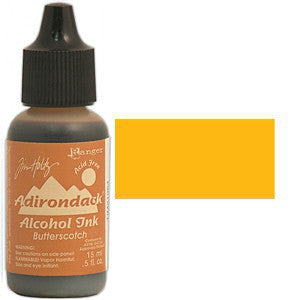 Adirondack Alcohol Ink .5 Ounce - Earthtones - Butterscotch