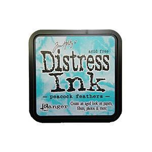 Tim Holtz Distress Ink Pads - Peacock Feathers