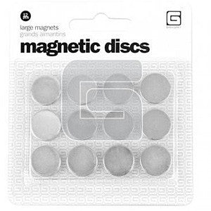 Basic Grey - Large Magnetic Discs