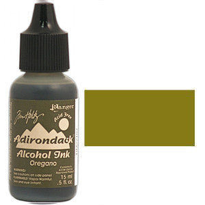 Adirondack Alcohol Ink .5 Ounce -  Earthtones - Oregano